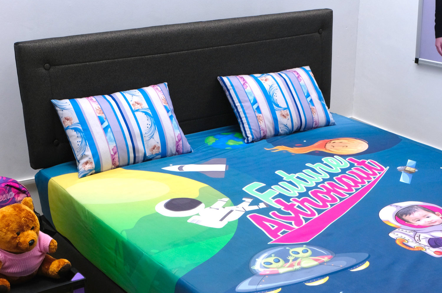 Custom Fitted Bedsheet