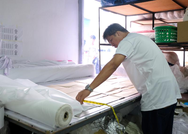 Cutting of Fabric