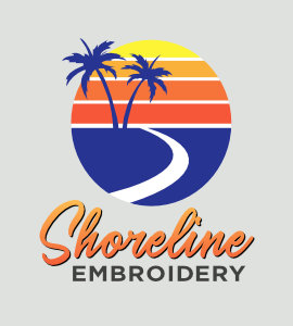 Shoreline Embroidery
